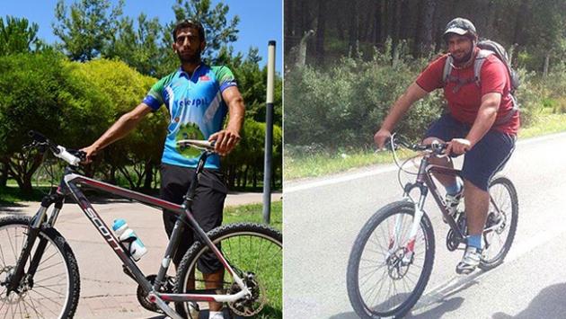 Bisiklet sürerek 60 kilo zayıfladı